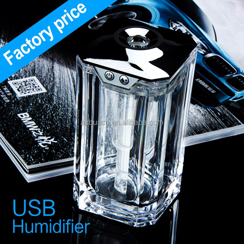Fragrance diffuser plaster flower 2016 Airbus USB air humidifier wholesale air fresher