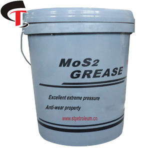 plastic pail package mos2 lithium based grease for lubricating machinery