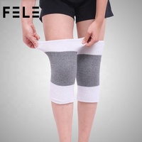 Cheap China Knee Pads Elastic Brace Muscle Support Sleeve Arthritis Sports Gym Knitted Warm Safety FL01-442