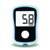 Digital blood glucose monitor with sugar meter and glucoser kits