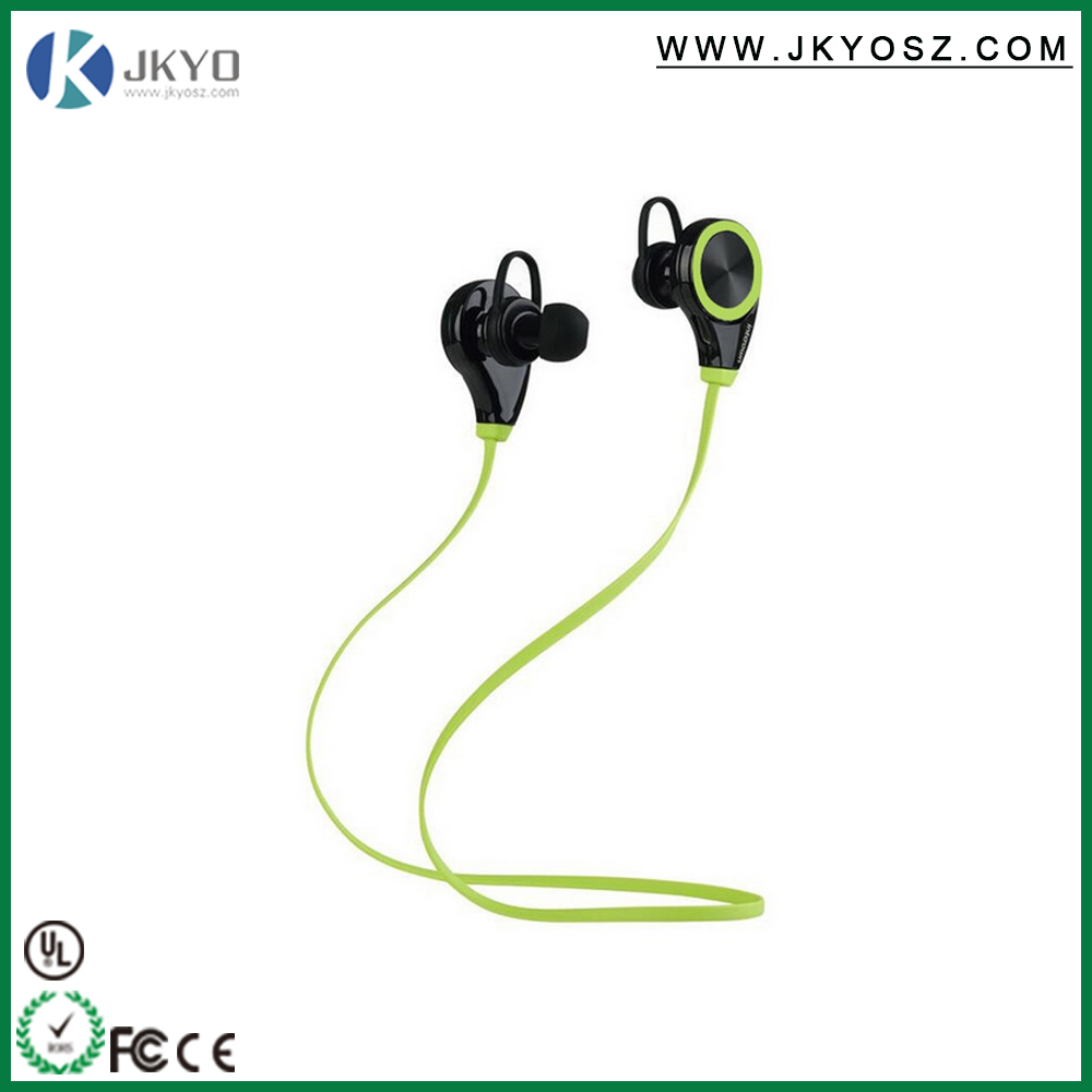 Wireless Stereo Earphone Bluetooth Sports With Microphone in ear for Phone Computer