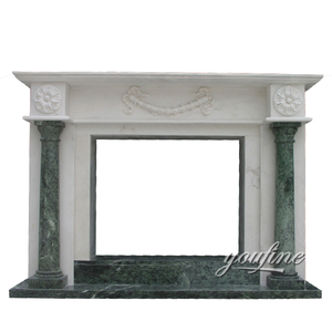 Mixed Color Cheap Granite Fireplace hearth