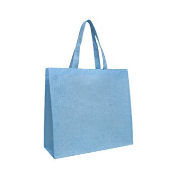 High Quality Cheap Embossed Non Woven Shopping Tote Bags