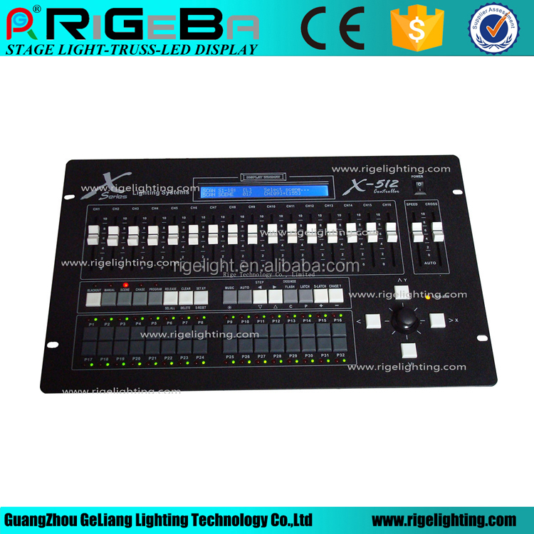 Commercial Lighting Free Shipping Hot Sale New 504 Channels Dmx Console Dmx Controller With Joystick Dj Lighting Console Traveling