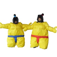 Funny Clumsy Kids Adults Japanese Fat Fighting Foam Padded Sumo Wrestling Suit For Sale