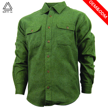 100% combed cotton flannel men's clothing long sleeve dress check shirts OEM no iron and wrinkle free