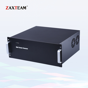 4 in 4 out Video Wall Controller 2.5U Chassis with Professional CMS Software