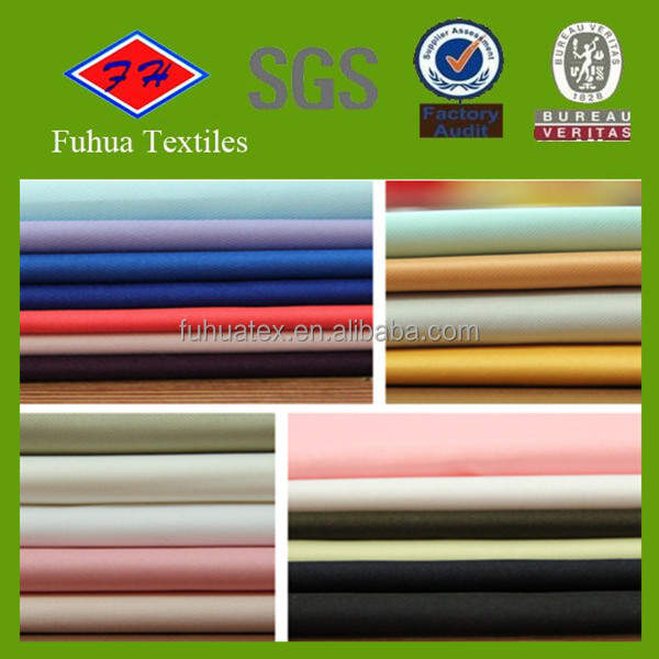 colorful 300d*300d 100%polyester fabric for suit and uniform