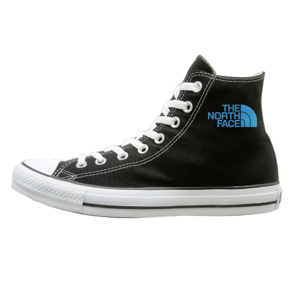 NFCGH The North Face Canvas Shoes Sneakers Slip On Shoes Black