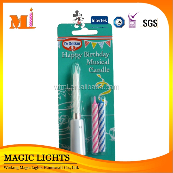 Hot Sale Birthday Decoration Electronic Candle