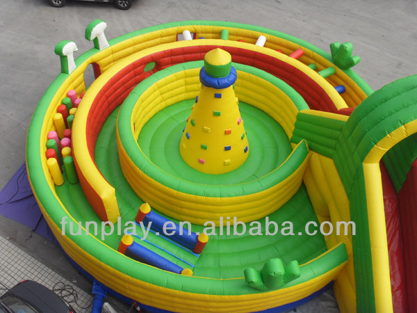 2012 slide inflatable city
