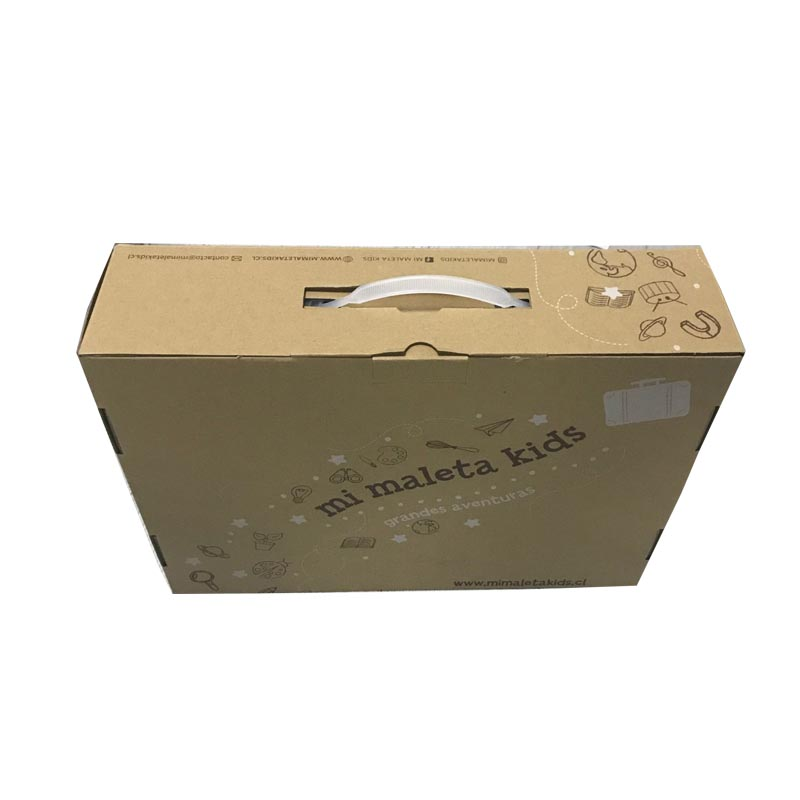 Custom Made Square Corrugated Paper Printed Folded Carton Boxes With Logo