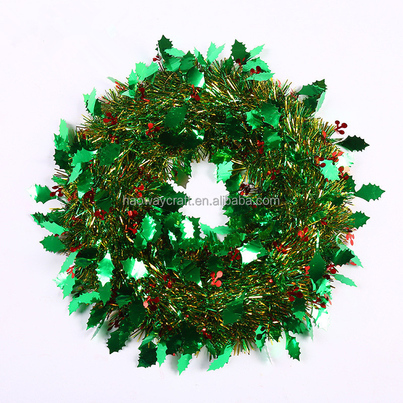 Christmas Tinsel Garland.Colorful Christmas Wreath Decor Christmas Tinsel Garland Buy Christmas Tinsel Garland Christmas Wreath Christmas Decor Product On Alibaba Com