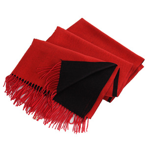 Korean Double-sided Cashmere Scarf Dual-use Mixed Color Long Student Female Autumn and Winter Warm shawl