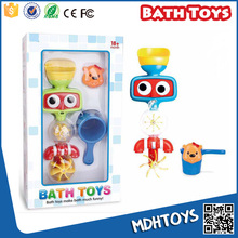 Baby bath toys for toddlers plastic kids bathroom play set toys