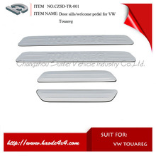 door sills scuff plate for vw touareg