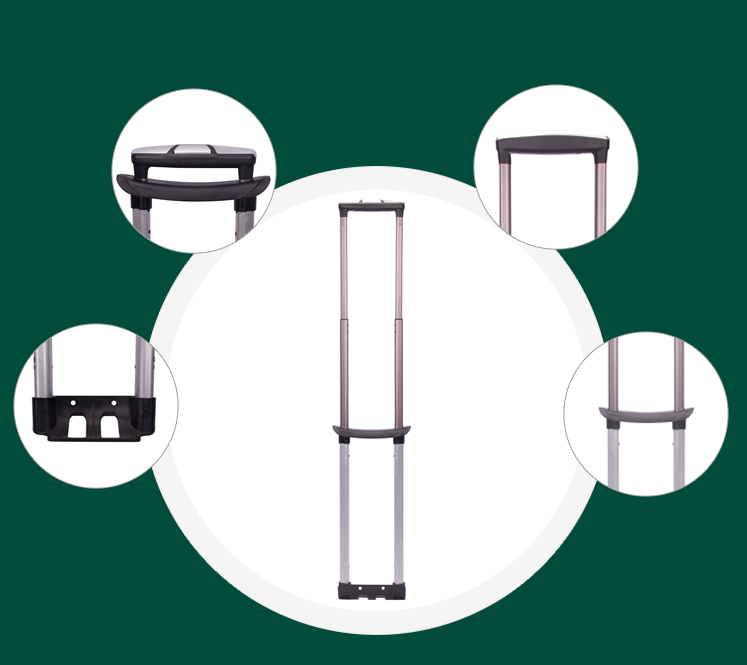 Detailed parts of trip accessories