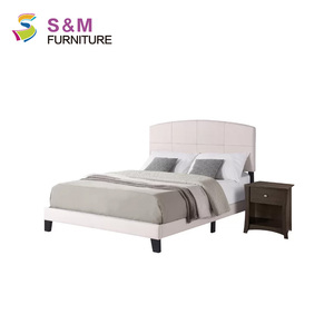 Modern Leather Panel soft Bed for home furniture