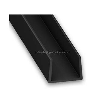 87f3a568ca6 Precio de fábrica en forma de C perfiles de goma U Tipo de caucho EPDM  extrusión