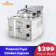 commercial deep fryer / used chicken pressure fryers / chips fryer