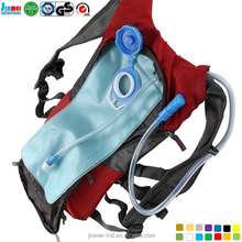 China Guangdong Dongguan factory wholesale hot selling solar backpack with water bag JM-B006L