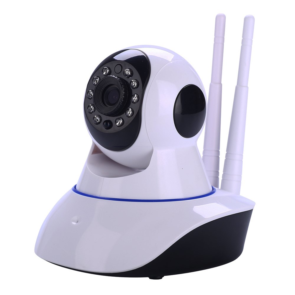 Wireless IP Camera Wifi HD 1.0MP Pan/Tilt Night Vision Audio Recording popular p2p ip camera software download free