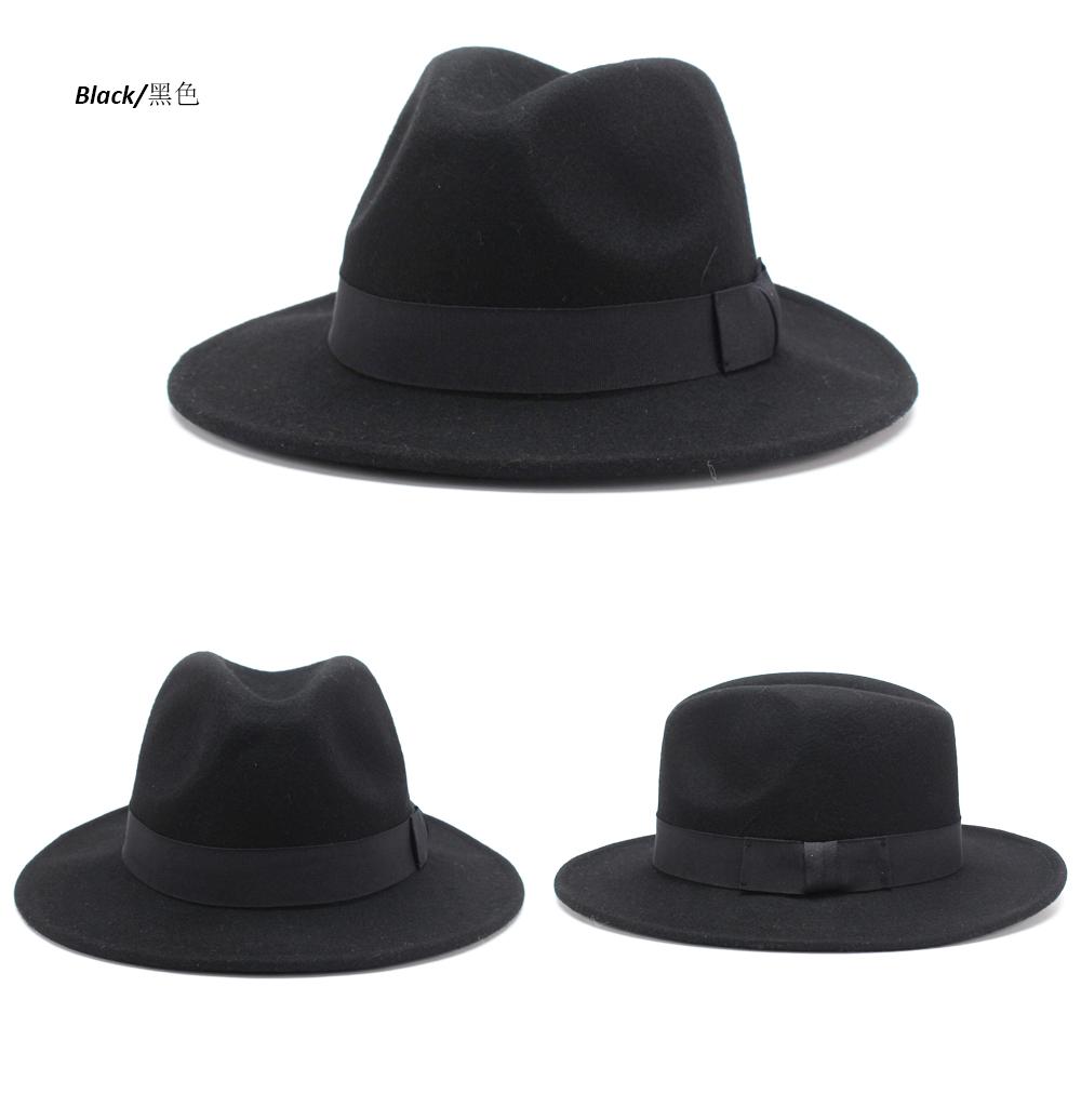 738fb75171d5a Clásico de verano vintage mejor stetson de fieltro de lana de ala ancha  cubano fedora sombreros