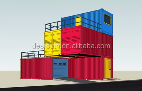 Container homes 40ft luxury villa container home kits for Villa en container