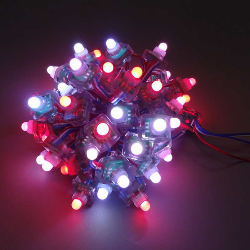 led pixle module light DC5V 12mm WS2801 led pixel