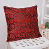hot sale Square Linen Cheap China wholesale promotion Pillow Case Home Sofa Office Decor Cushion Cover