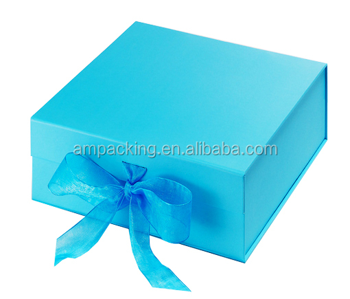 Handmade Rigid Cardboard Hinged Gift Box For Candle Packaging With ...