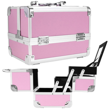 MLDGJ1178 New wholesale airbrush tool storage aluminum empty makeup kit