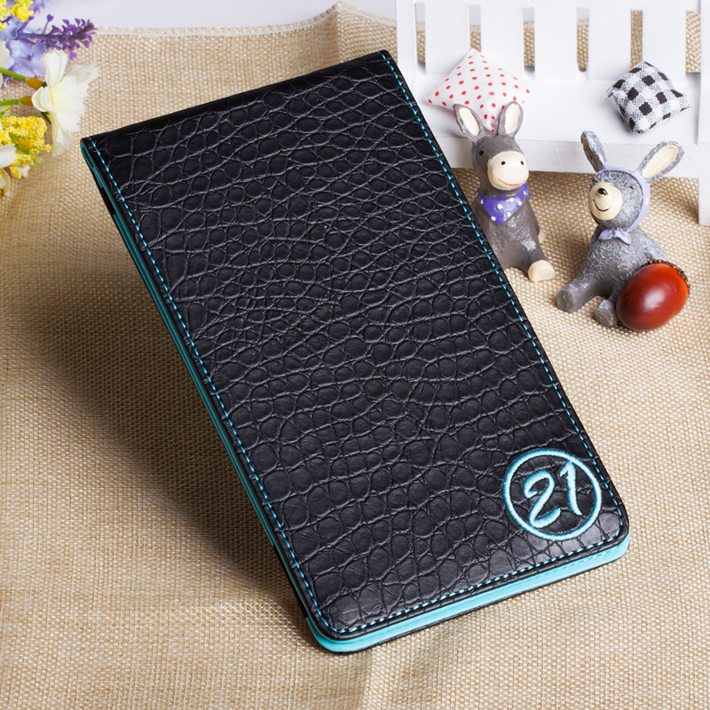 Factory price custom card holder leather golf score card holder