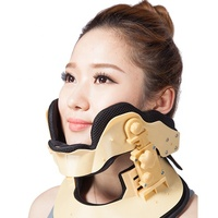 Cervical Neck Traction Device - Neck Massager & Collar & Brace - Neck & Shoulder Pain Relief - Stretcher Collar for Travel/Home