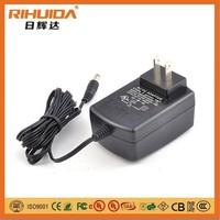 12V 1200MA AC DC power supply comly with SAA BS CE UL PSE