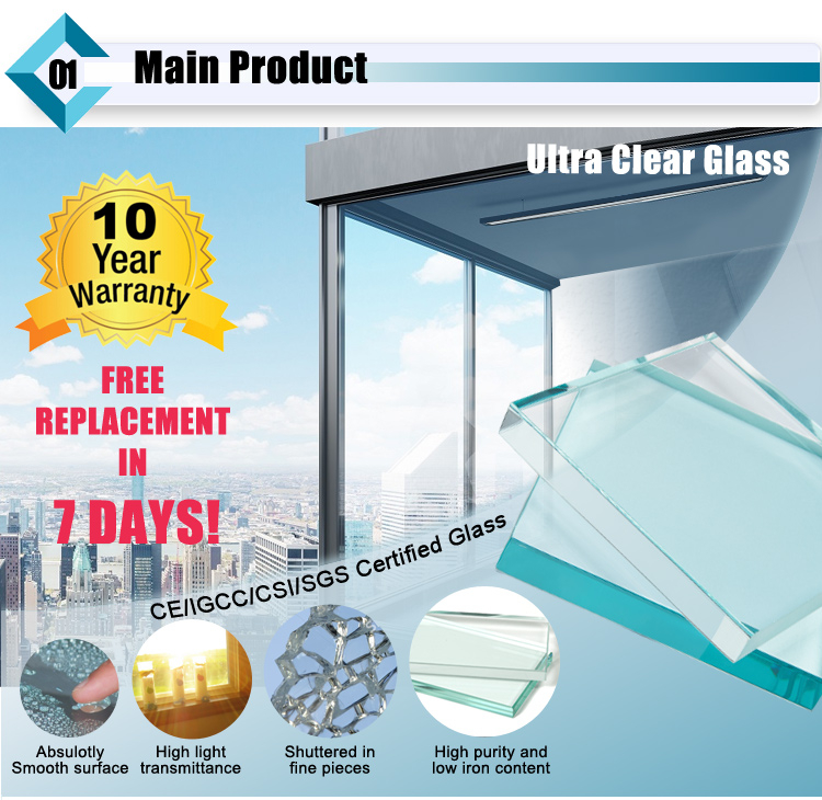 Ultra Textured Tempered Glass