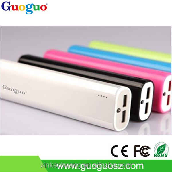 8000/8800/10400mAh USB portable power bank charger for mobile phone