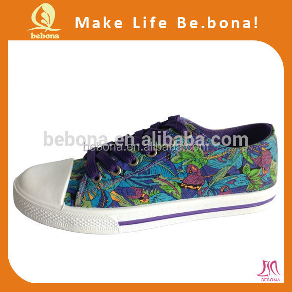 Lady Funny Canvas Shoes Leisure