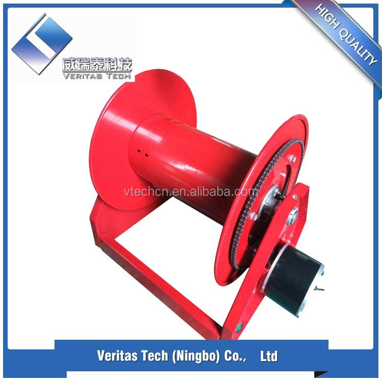 "Rewindable and durable Auto1"" or 1.5'' Hose Reel (Mounting on Rear of Water truck)"