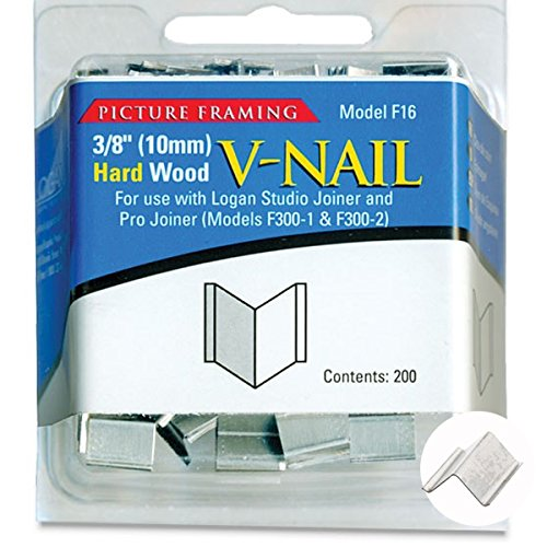 Buy Logan Graphics Framing Hardware Frame Joiner V Nails 38 Inch
