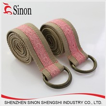 cotton polyester tetoron woven fabric sash belt wide belts for women