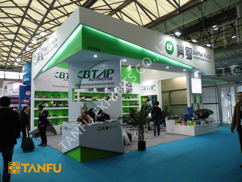 Trade Show Booth Builders : China exhibition booth construction services for shanghai