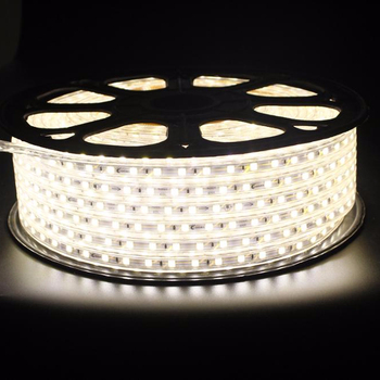 High brightness led strip high voltage 220v with 5730 100m/roll for Family decoration
