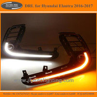 New Arrive LED DRL Light for Hyundai Elantra High Quality Daytime Running Light LED for Hyundai Elantra 2016 2017