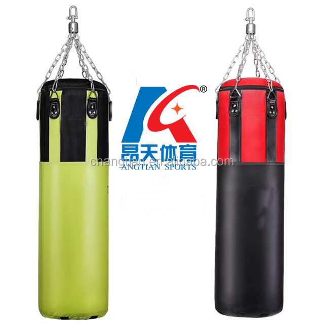 hebei china factory fitness exercise training boxing sand punch heavy bags/ kick/ Muay thai/ mma