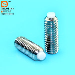 Stainless Steel Hex Socket drive Nylon/Brass Tip Set Screw