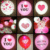 New Arrival Factory Direct Cheapest Hot Selling Dot Marble Latex Led Balloon Wedding Decoration LED Balloon