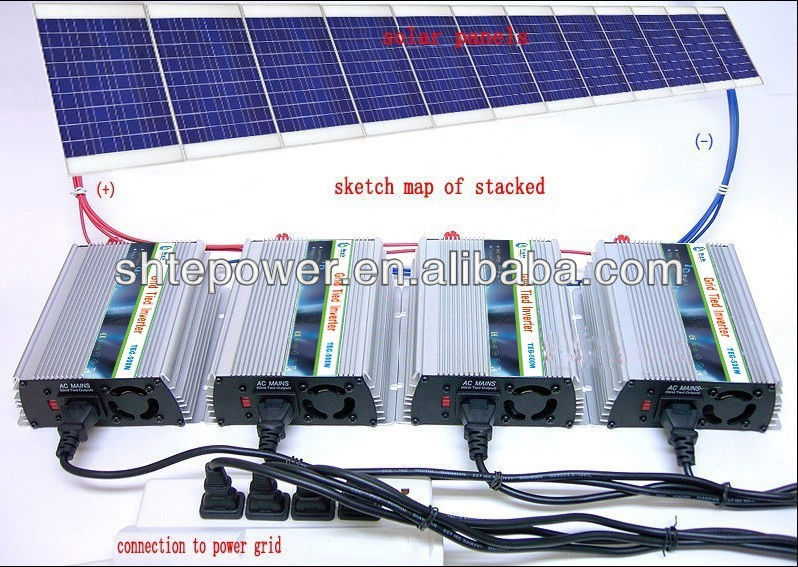 solar panel mppt inverter dc 12v 24v to ac 220v 230v 240v. Black Bedroom Furniture Sets. Home Design Ideas