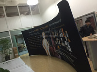 pop display stand pop up banner for display exhibition banner printing