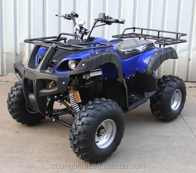 New Big Shaft Driving Adult Electric Atv Motorcycle 4 Wheels Quad